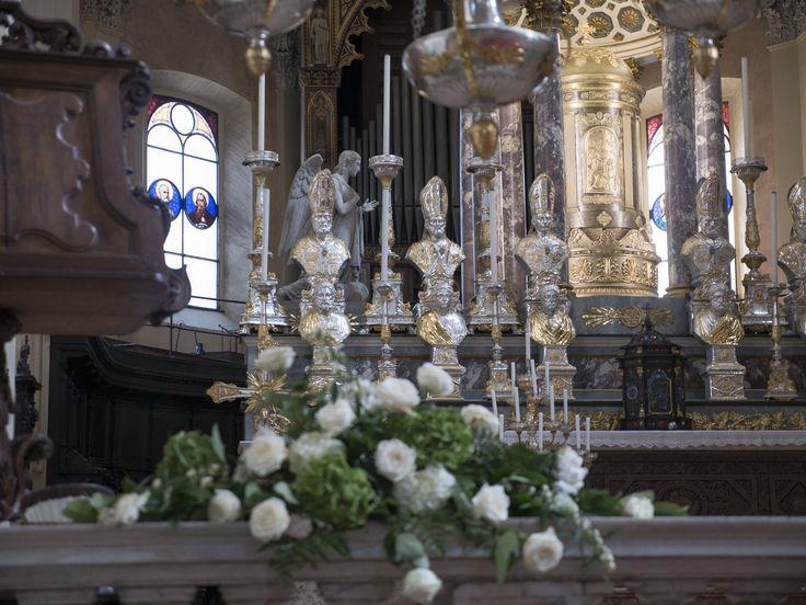 eine der vielen Kirchen in Mailand