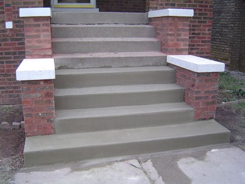 Best 95 Best Outdoor Steps Concrete Images On Pinterest Decks Facades And Concrete Front Steps 640 x 480