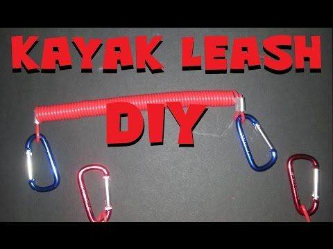 DIY Kayak Leash Super Inexpensive - YouTube