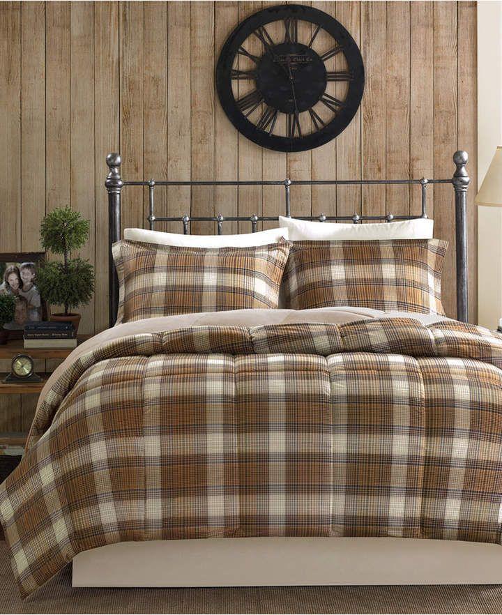 Woolrich Lumberjack 2 Pc Twin Comforter Set Bedding Comforter