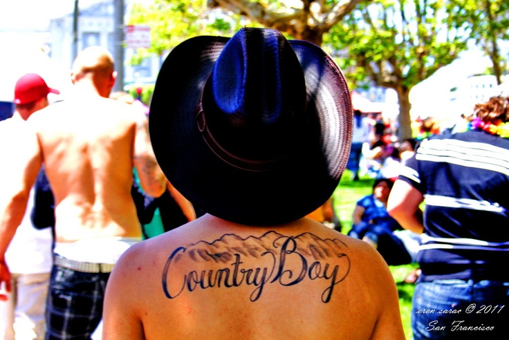 """Country Boy"" Tattoo"