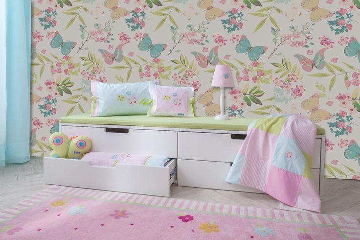 Γεμίστε το παιδικό δωμάτιο με χρώματα!  Ταπετσαρία Τοίχου: http://www.houseart.gr/select_use.php?id=80&pid=11106 #houseart #wallpaper #diy #decoration