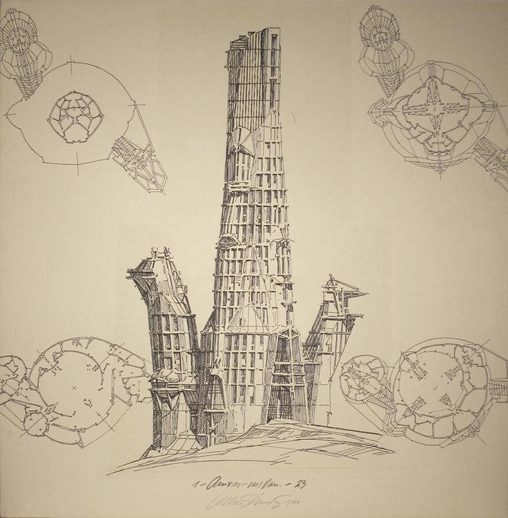 Lebbeus Woods: Early Drawings 3