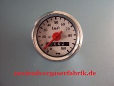 Tachometer Simson Schwalbe 100 km h neu