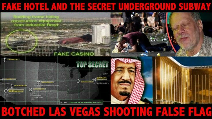 For their part in the October 1 massacre, 3 of the 4 shooters used the subway to escape. The fourth shooter escaped in the helicopter he was shooting from. The helicopter was never seen again. MIND BLOWING INTERVIEW BELOW In 1978 the shadow government started building a secret base near Silent Spring Canyon on the Paiute Mesa in the Nevada Test Site. Its name then was Sandia. The airbase is connected to the Sandia facility 14.6 miles to the south, with an underground subway. The complex was…