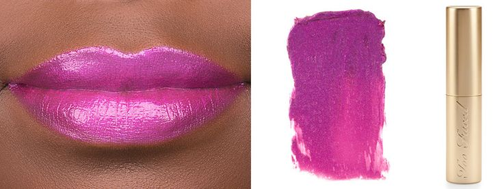 Soft and Sweet: The Lilac Lipstick Review | Beautylish Too Faced La Creme Color Drenched Lip Cream in Lollipop