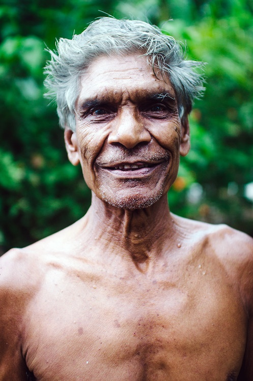 An fit older gentlemen in Tissa, Sri Lanka.  #portrait #man #travel #photography #smile