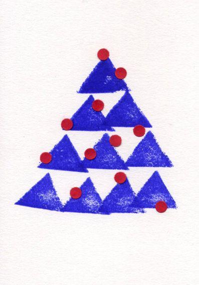 Weihnachtskarten selber basteln | SoLebIch.de
