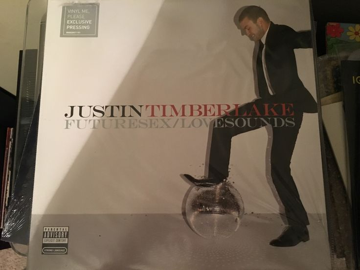 Justin Timberlake-Futuresex/Lovesounds (Vinyl Me Please colored vinyl)