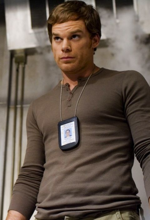 Michael C. Hall as delicious Dexter