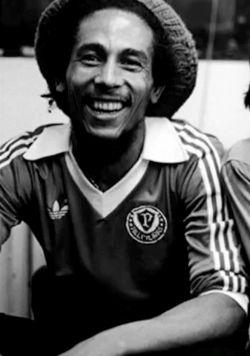 Bob Marley's Vintage Adidas Soccer Jersey