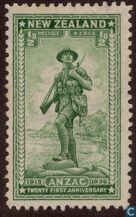 New Zealand - ANZAC 1936