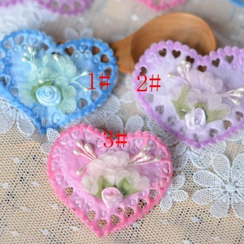 [Visit to Buy] 2017 Parches Bordados Patches For Clothing Iron On Patches 2016love Lace Accessories Type Patch Corsage Flower Stickershot Sale  #Advertisement