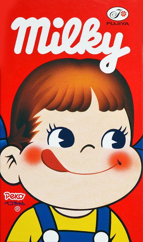 Fujiya Milky Peko-chan