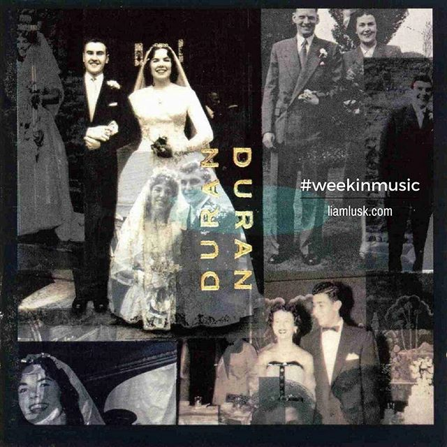 #weekinmusic #greatmusic The #1993 self titled #duranduran album often dubbed #theweddingalbum because of the cover - #alternativerock #softrock #poprock #simonlebonCheck out the #weekinmusic section of my blog at http://liamlusk.com/category/week-in-music/