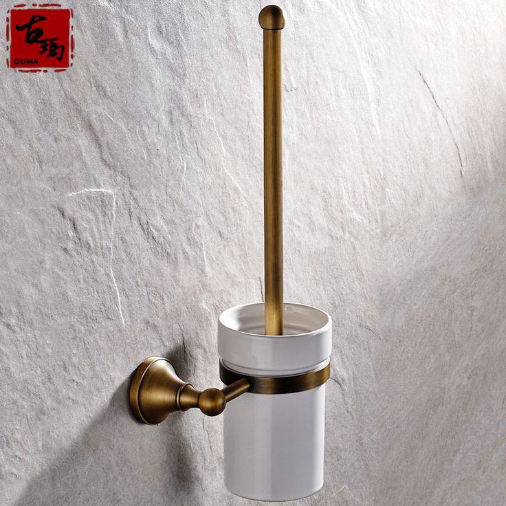 Купить товарГума бренд полностью оборудованная ванная комната аппаратных аксессуаров пользуются популярностью европейский античная медь держатель для туалетной щетки белый керамическая чашка F806 в категории Держатели бумагина AliExpress.     Потому что различные инструменты и методы измерения,  Там может быть немного предвзятости туалет Размер кисти,  Про,
