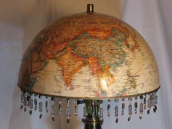 Globus Upcycling Idee Lampupcycle Upcycling Ideen Globus Lampe Upcycling