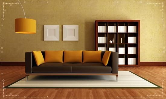 Gold Paint Living Room