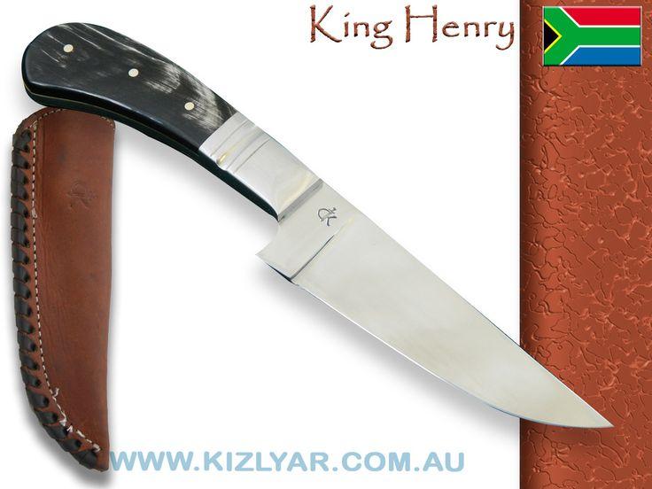 Kappetijn King Henry Hunter, D2 Steel (Water Buffalo Horn)