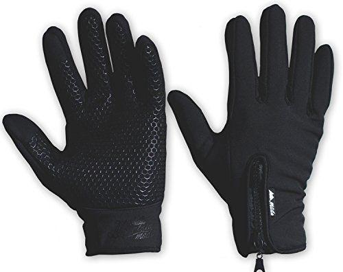 Mountain Made Outdoor Gloves for Men & Women, Black, Small - http://todays-shopping.xyz/2016/07/24/mountain-made-outdoor-gloves-for-men-women-black-small/