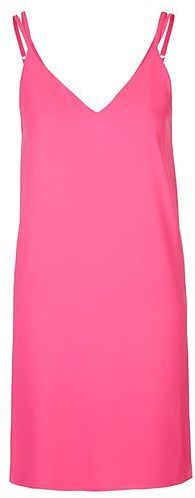 Womens cerise petite cross back slip dress - bright pink, bright pink from Topshop - £29 at ClothingByColour.com