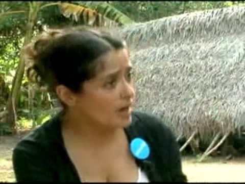 Actress Salma Hayek #breastfeeding a hungry child in Africa.