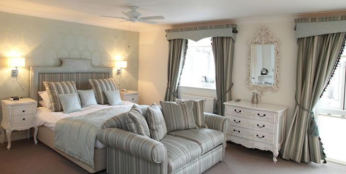Stunning bedrooms at the hoste