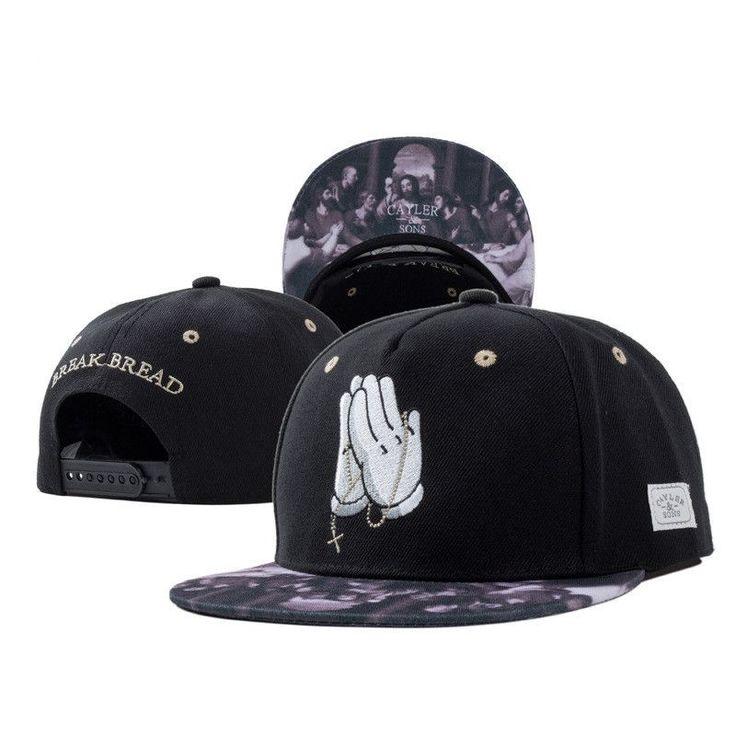 2015 New Fashion Cayler Sons Letters Mens Casual Hats Bone Gorras Snapbacks Hip