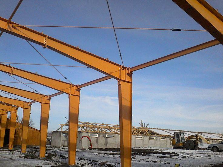 Structura Prejmer - Structuri metalice   Duna-steel.ro