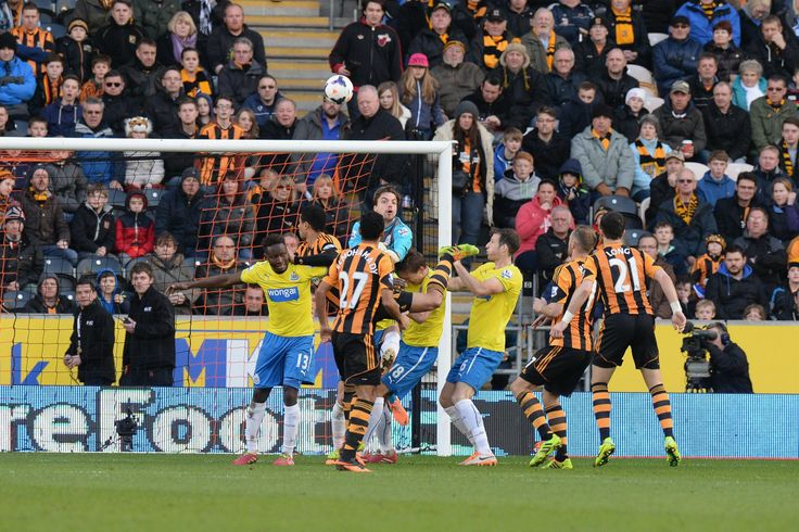 Hull City AFC 1 Newcastle United FC 4: In an otherwise magnificent performance, Tim Krul mistimes a cross to allow Curtis Davies to head in Hull's only goal.