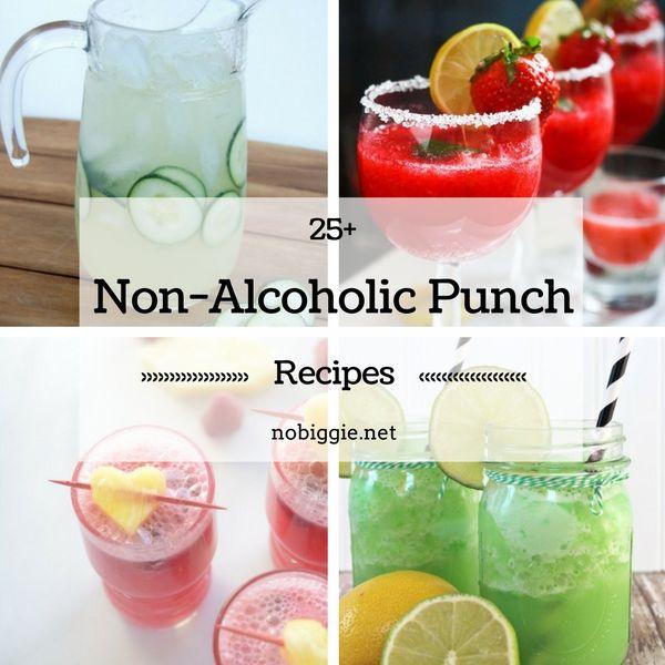 25+ Non-Alcoholic Punch Recipes | NoBiggie.net