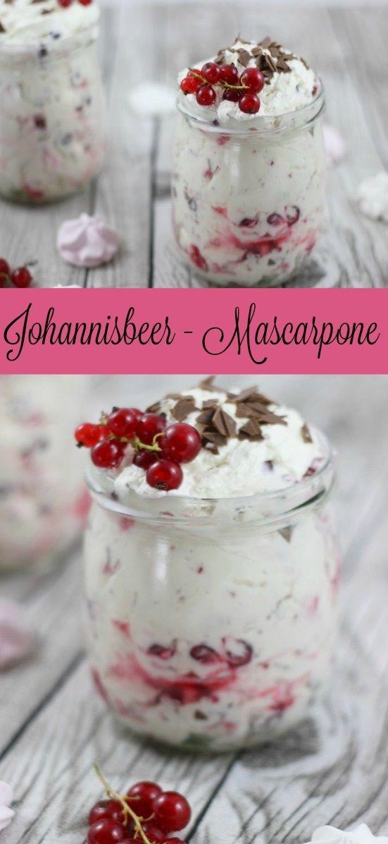 Johannisbeer - Mascarpone mit Baiser http://www.the-inspiring-life.com/2016/07/food-abc-j-johannisbeer-mascarpone-mit-baiser-und-schokolade.html #Baiser #Mascarponecreme #Mascarpone