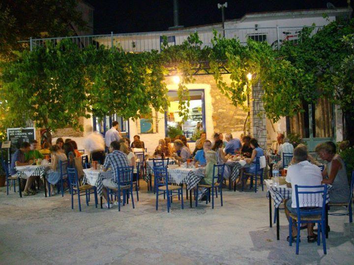 The dream restaurant in Parga, Greece