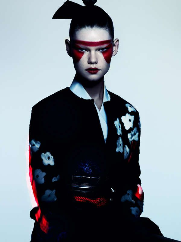 Sleek Samurai Editorials