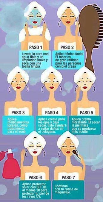 Cómo Lavarse La Cara Correctamente En 7 Pasos Skin Care Skin Tips Face Skin Care