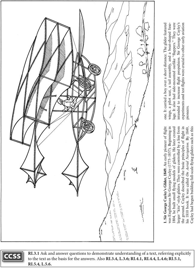 coloring pages for wright brothers - photo#17