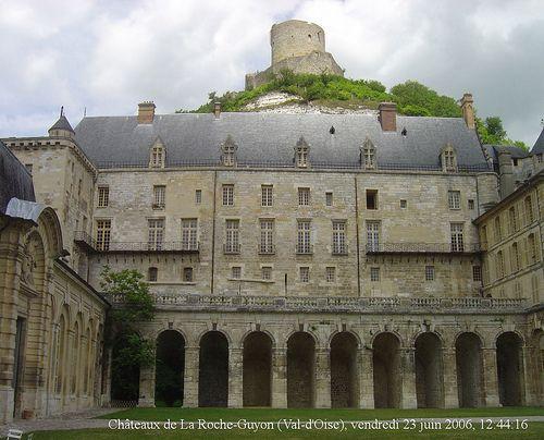 Châteaux de La Roche-Guyon, La Roche-Guyon, Magny-en-Vexin, Pontoise, Val-d'Oise, Île-de-France, France