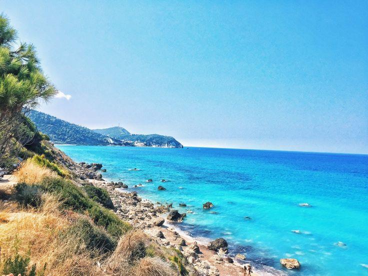 Pefkoulia Beach Lefkada Greece