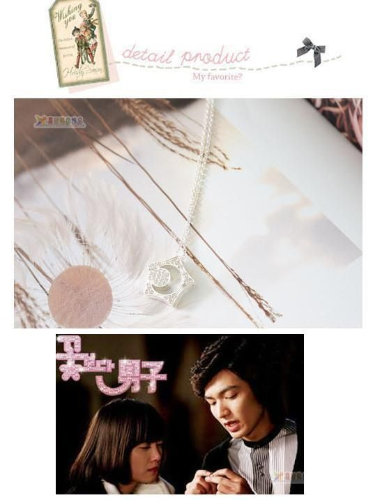 Boys Over Flowers Kissing Star Necklace RM 24