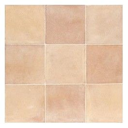 Sable Rosé Façonnée à la main, la gamme Patiné Main se caractérise par des nuances naturelles sable/rosé, rouge/rosé et marron sienne   Dimensions : 20x20x2, 30x30x2, 20x40x2, 16x16x1.8, 13x13x1,7 cm