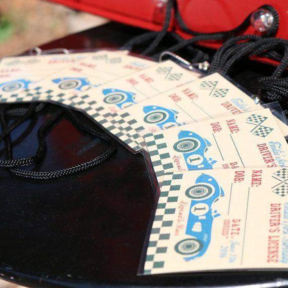 Licencia de auto vintage de Ohio