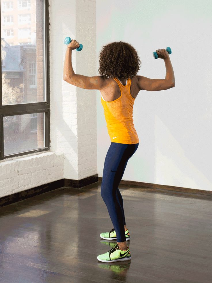12. Standing Twist #standing #abs #workout http://greatist.com/move/abs-workout-best-abs-exercises-you-can-do-standing-up