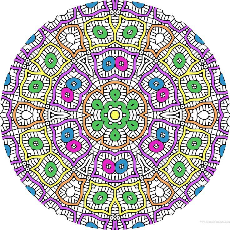 le coloriage anti stress pour adulte mandala coloriage adulte via dessin2mandalacom