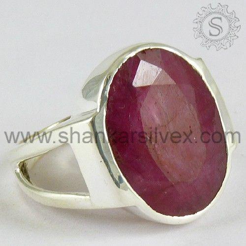 Ruby Gemstone Ring