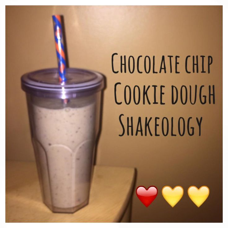 Di's Food Diary 21 Day Fix Approved Recipe = Chocolate Chip Cookie Dough Shakeology