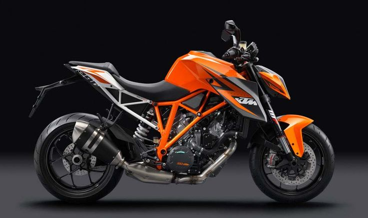 2014 KTM Super Duke 1290 R. - 417 lbs dry, 75° v-twin, 180 HP, 106 lbs•ft of torque, with 74 lbs•ft available at just 2,500 rpm.