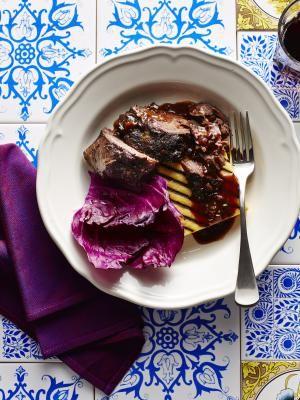 Italian-Style Pot Roast: Beef Braised in Red Barolo Wine: Braised beef ...