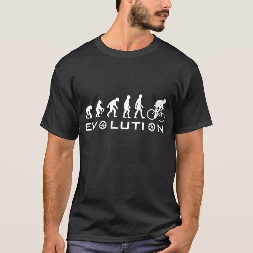 Evolution of Cycling. De evolutie van het fietsen. Zazzle.
