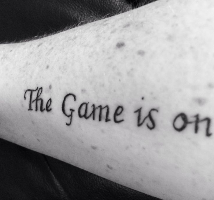 My very own Sherlock inspired tattoo 31.1.14