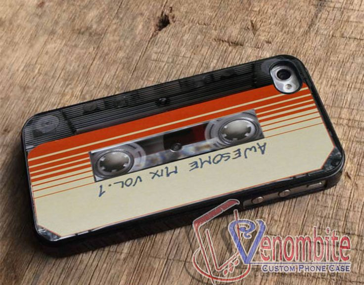 Guardians of The Galaxy Awesome Mix Vol 1 Cassette For iPhone 4/4s Cases, iPhone 5 Cases, iPhone 5S/5C Cases, iPhone 6 cases & Samsung Galaxy S2/S3/S4/S5 Cases